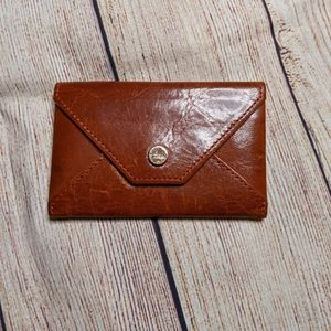 Abas small wallet/ cardholder brown